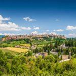 Foto di Orvieto e di Civita di Bagnoreigio